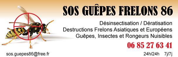 SOS GUEPES FRELONS 86 Logo